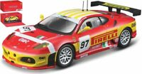 Model Car Scale 1:43 Burago Ferrari F430GT Bms Racing diecast vehicles