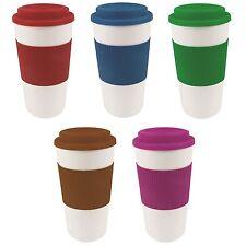 450ml 16oz Thermal Insulated Double Wall Cup Tea Coffee Travel Mug Take Away
