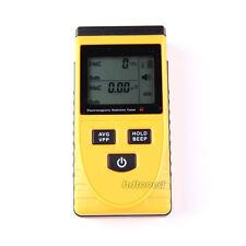 LCD Display Electromagnetic Radiation Detector Monitoring Meter EMF Instrument