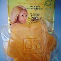 Q7 Gold Carotte Whitening Exfoliant Hygiènic Soap+Q7 Body lotion Éclairssant