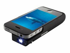 """Brookstone Pocket Projector iPhone 4 Device Video to Go up to 50"""" images"""