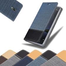 Handy Hülle für Lenovo P2 Cover Case Tasche Etui Jeans Stoff