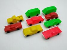 Vintage 1970's Processed Plastic Mini Buggys Kars HO Scale Car LOT Batmobile KO