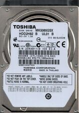 MK5065GSX HDD2H82 B UL01 B Toshiba 500GB