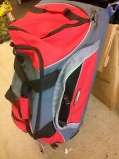 BOOT BAG, HIGH SIERRA ROLLING CARGO/DUFFLE BAG, pull out handle, lots of pockets