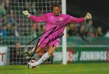 MK DONS HAND SIGNED DAVID MARTIN 6X4 PHOTO.