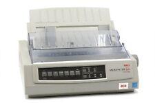 Oki MICROLINE 320 Turbo Dot Matrix Networkable Printer - White