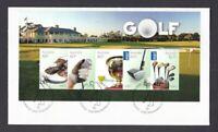 AFD1190) Australia 2011 Golf FDC International Post