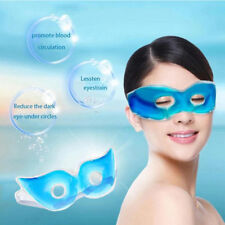 Blue Gel Eye Mask Cold Pack Warm Hot Ice Cool Soothing Tired Eyes Headache Pad