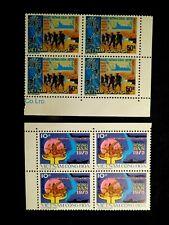 Vietnam Blocks of 4 Stamp Set Scott 512-513 Mnh