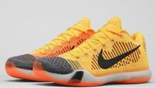 Nike Kobe X 10 Elite Low Chester Cheetah Shoe Total Orange Laser 747212-818 10.5