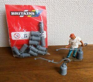 Britains Plastique de la Ferme Pulvérisateurs et bidons en sachet
