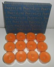Partylite Mango Magic 12pc Tealight Candles V041038 New/Open Box