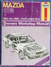 MAZDA 626 Owners Workshop Manual 1983-1985