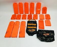 Huge Lot of NERF Gun Clips and Pouches