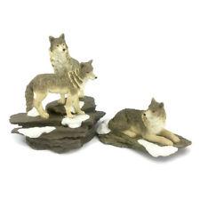Westland Gray Wolf Pack Figurine The Encounter 3313 Silent Watcher 3315 Set 2