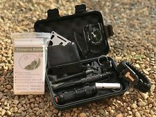 Emergency Survival Kit 13 in 1, Preparedness Survival Gear for Camping and more!