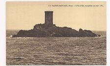 saint-raphael   l'ile d'or  vue prise en mer