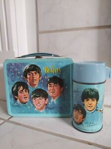 1965 Beatles Lunchbox with Thermos