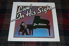 Jim Callahan~Live! In His Sight~Private Press Xian~Blind Pianist~Christian