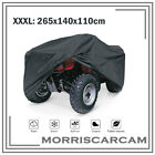 Black XXXL ATV Cover Waterproof Outdoor For Honda Rancher 350 400 420 2x4 4x4 ES
