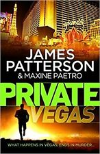 JAMES PATTERSON ___ PRIVATE VEGAS ___ BRAND NEW ___ 'A' FORMAT ___ FREEPOST UK