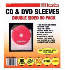 500 Humlin Manga de CD y DVD de doble cara 100 Micron posee 2 discos por Manga HM8004