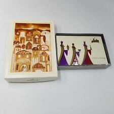 Hallmark Christmas Cards Gift Wrap Company 3 Kings Christmas Blessings Lot 2