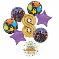 The Descendants Party Supplies 8th Birthday Balloon Bouquet Decorations