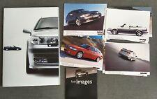 SAAB 93 9-3 Aero Coupe Cabrio 95 9-5 Aero Pressemappe Media Press Kit 2000 L