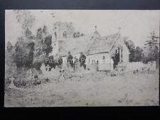 Staffordshire STAFFORD Castle Church - Old Postcard
