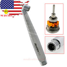 durable use Dental 45 Degree Surgical Handpiece High Speed Push Turbine 2HOLE