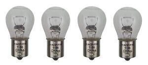 Wagner 1156 12V for Lancer Miniature Lamp Rear Turn Signal Light Bulb Lot of 4