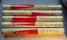 Vintage Tapete original 60er 70er hildesia design OVP gold beige Ornament Muster