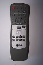 LG CD TWIN TAPE TUNER HIFI REMOTE CONTROL