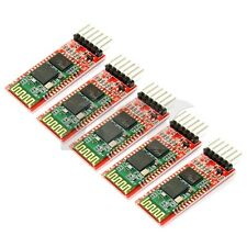 5x HC-05 Bluetooth Transceiver Host Slave/Master Module Wireless Serial 6pin