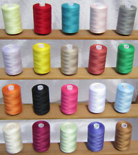20 Large Assorted Sewing Cottons *High Quality Polyester Thread* Free UK Postage