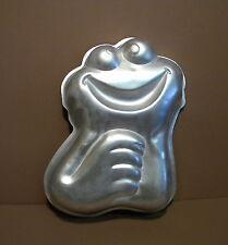 1977 Wilton Sesame Street Muppets GOOGLE EYED SMALL COOKIE MONSTER Cake Pan Mold