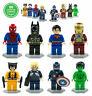 8pc Super Heroes Minifigures Marvel Avengers Batman Superman Superhero Figures