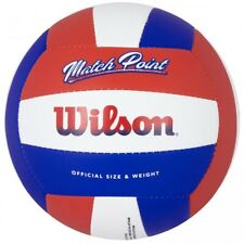 Wilson Match Point Red White and Blue Volleyball