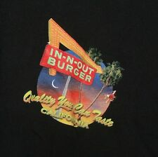 IN-N-OUT BURGER Quality You Can Taste California / Race to the Place XL T-Shirt
