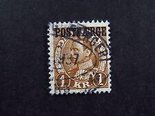 Stamp Frimaerke Postfaerge Denmark Danmark Færgeri. nice error in AE