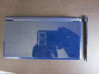 Nintendo Ds Lite Console Enamel Navy w/touch pen Japan SK