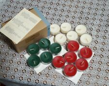 Lot of 17 Christmas Scented Partylite Tealight Candles-New-P95378