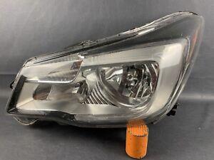 2017-2018 Subaru Forester Front Left Driver Headlight Halogen w/ LED Damaged OEM