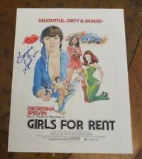 Georgina Spelvin signed autographed photo Devil In Miss Jones Girls For Rent