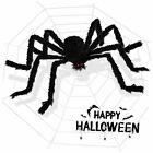 "79"" Halloween Giant Spider Decorations Outdoor 126"" Halloween Spider Web Decor"