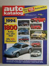 auto katalog Modelljahr 1994 Nr. 37 - Vereinigte Motor-Verlage GmbH, 330 Seiten
