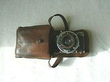 Ancien Appareil Photo Miniature ELJY Lumière ANASTIGNAT LYPAR 135 avec Etui Cuir