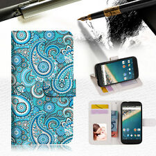 Seamless pattern with paisley Wallet Case Cover For Google Pixel 2 XL-- A022